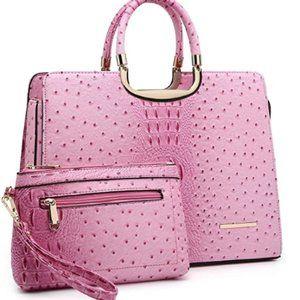 Fashion artificial leather handbag women's Satchel